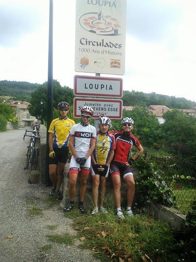 Stage Touristico - Sportif  à  Carcassonne (août 2013), par Michel C.