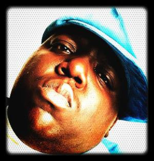 •                                             Christopher Wallace A.k.a The Notorious B.I.G A.k.a Biggie Smalls                                                                                                              •