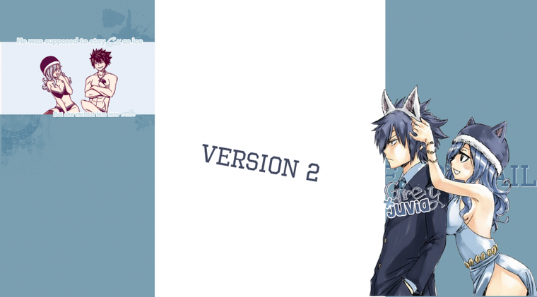 Pack Habillage n°18, Special Gruvia [Libre-service]