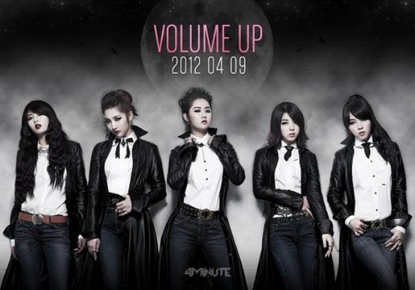 4Minute - Volume Up MV