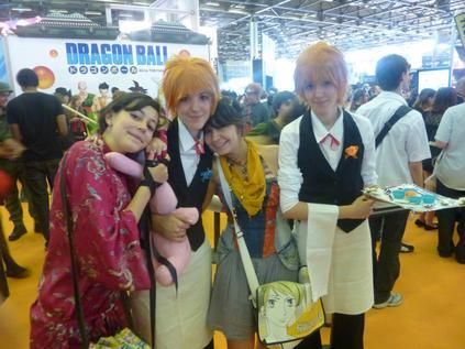 Cosplay Hikaru/Kaoru version serveur (Host Club) ♥