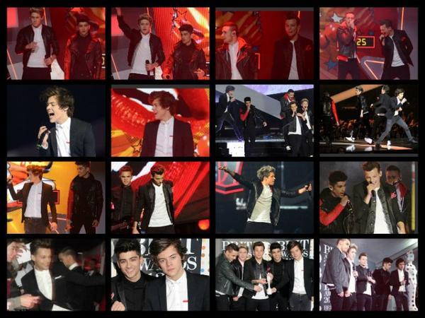 Nos boys aux Brit Awards.