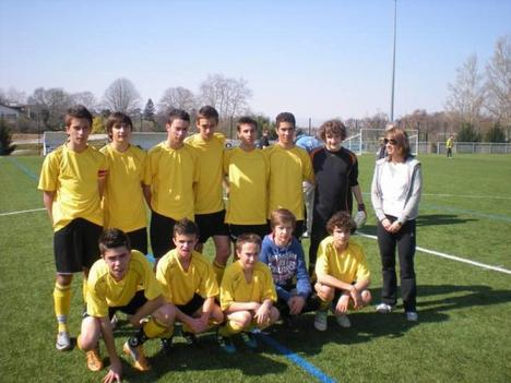 UNNS foot champion d'Aquitaine ! <3