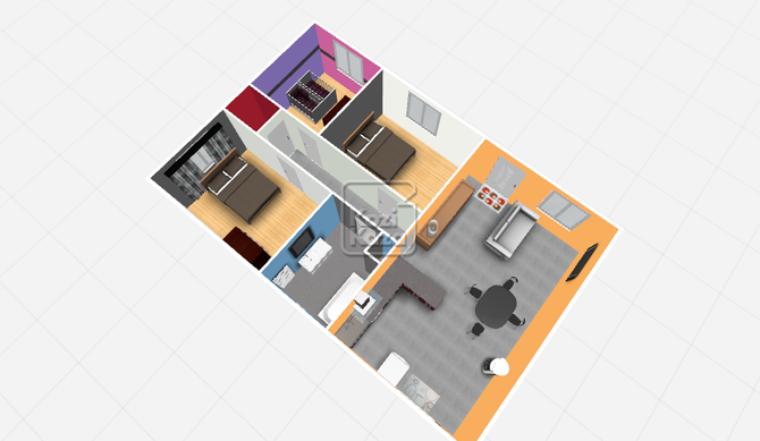 un aperçu de notre futur maison