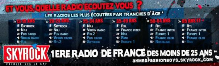Skyrock - 2ème radio musicale de France