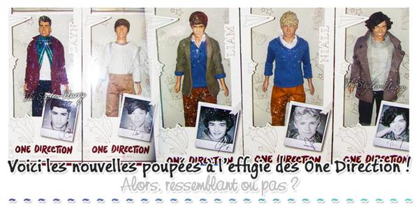Sortie + Nouvelles poupées 1D (+ divers):