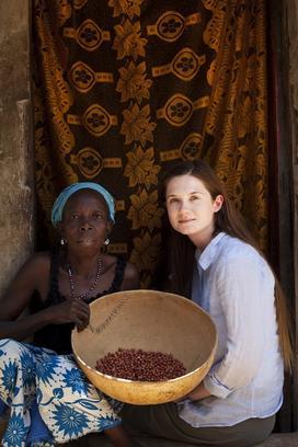 Bonnie Wright au Sénégal.