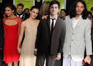 "Première de ""The Perks of Being a Wallflower"" à Los Angeles."