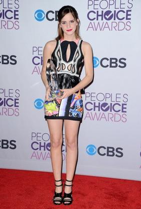 Emma au People's Choice Awards 2013.