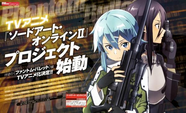 Je me suis regarder SAO 1  Aircrad Online  et la suite SAO Alfheim Online ( ALO)  , SAO II  Phantom Bullet
