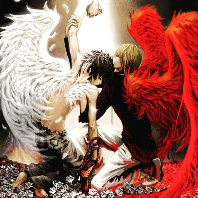 Death Note *-* j'adore cette image