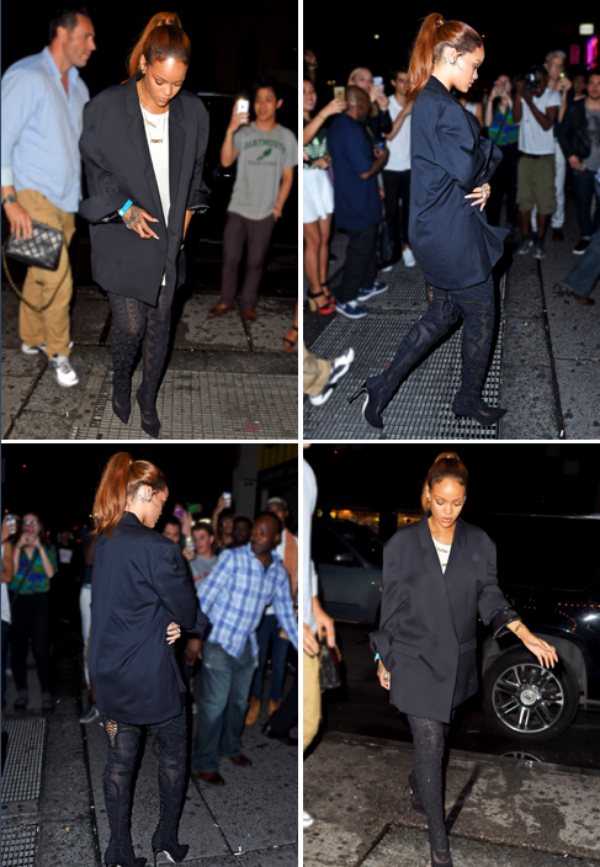 Candids/ 9 juillet/ Riri dans les rues de NY, au club Up & Down