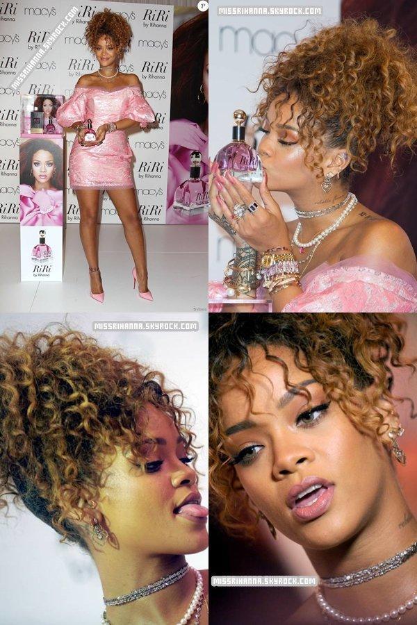 1er septembre/ Rihanna lance son nouveau parfum