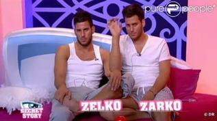 La magnifique phrase de Zarko pour son frere Zelko qui etait un peu ému