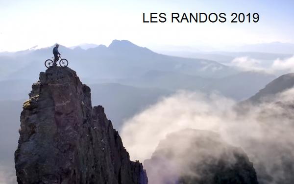 Les randos 2019 :  187  affiches. Mise à jour 18/02