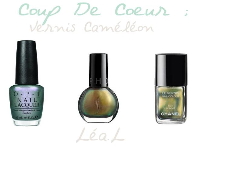 • [COUP DE COEUR#2] ; Les Vernis Caméléon !