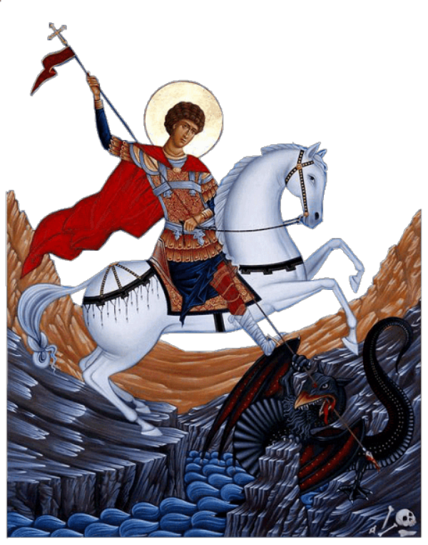 Sfântul Mare Mucenic Gheorghe, Purtătorul de biruință