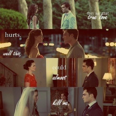 We are Blair and Chuck, everyone knows what that mean ...
