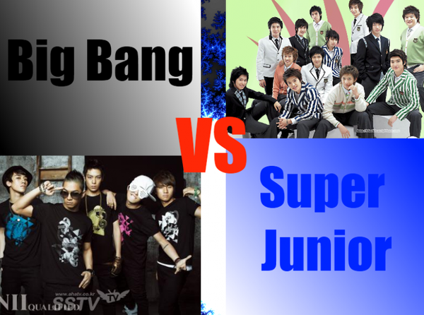 Super Junior VS Big Bang