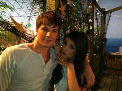 Matt et Shenae  Grimm