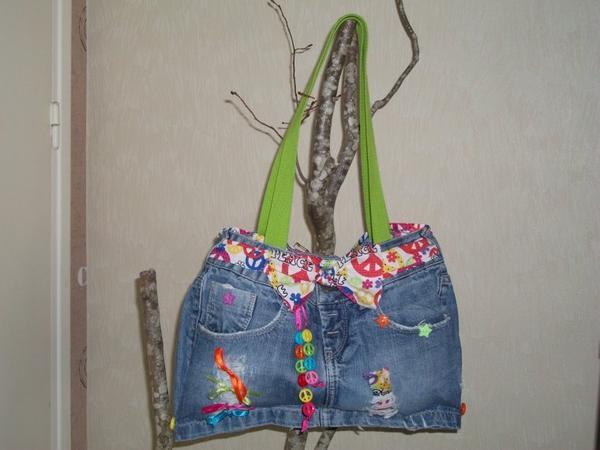 """Sac en Jeans """" KENZA """""""
