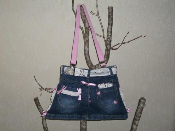 """Sac en Jeans """" PARIS """""""