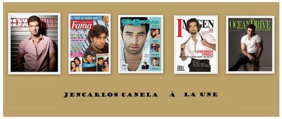 """Jencarlos :  """" El cantante y actor """" """"chanteur et acteur"""""""