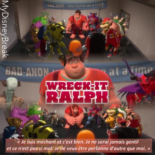 Disney's QuoteLes Mondes de Ralph.
