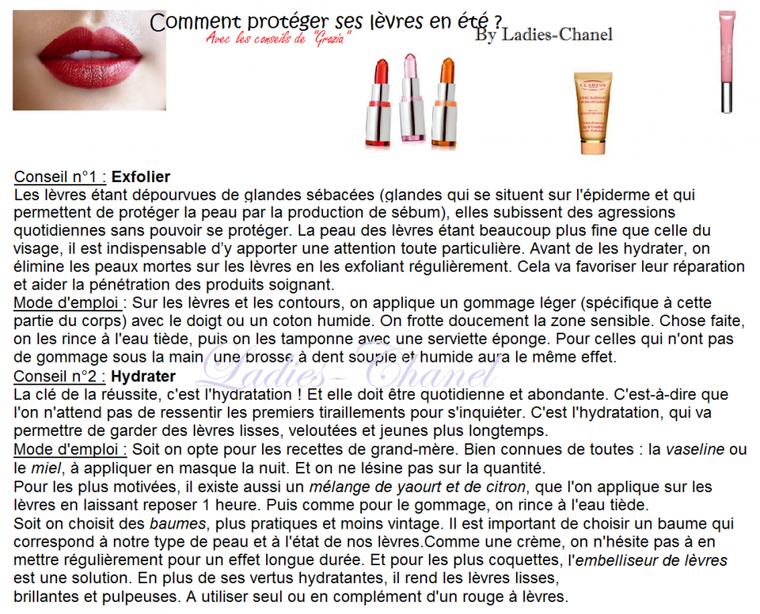 Rubrique Beauté : Comment protéger ses lèvres en été ?