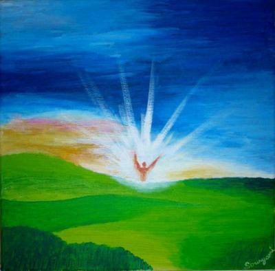 Ange d'une nouvelle aurore