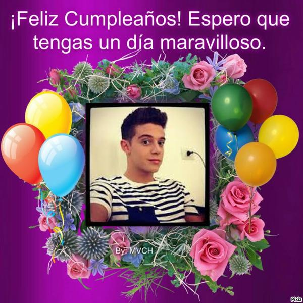Buon compleanno/Feliz cumpleaños/Joyeux Anniversaire/Happy Birthday ♥