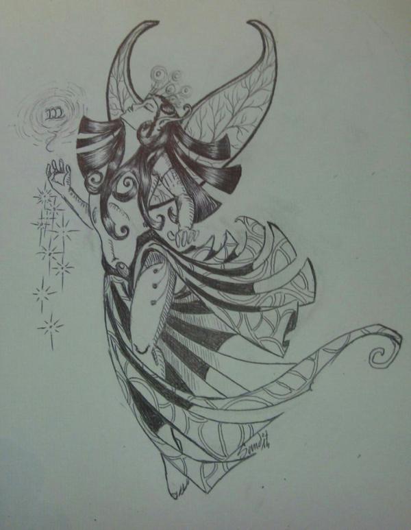 Atelier gribidouillage ~ Magic Woman