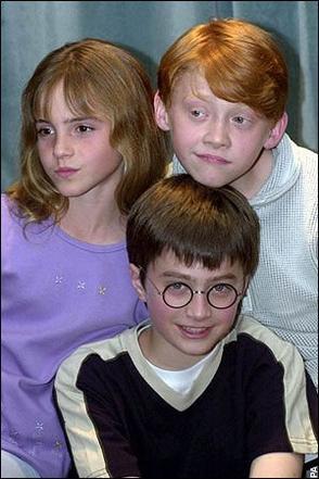 Emma, Dan et Rupert