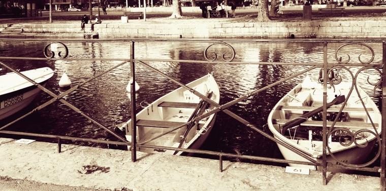 Tentant, non ? Un jour peut-être, j'oserai aller sur le lac en barque. Mais pour le moment non, j'ai peur de l'eau. u_u