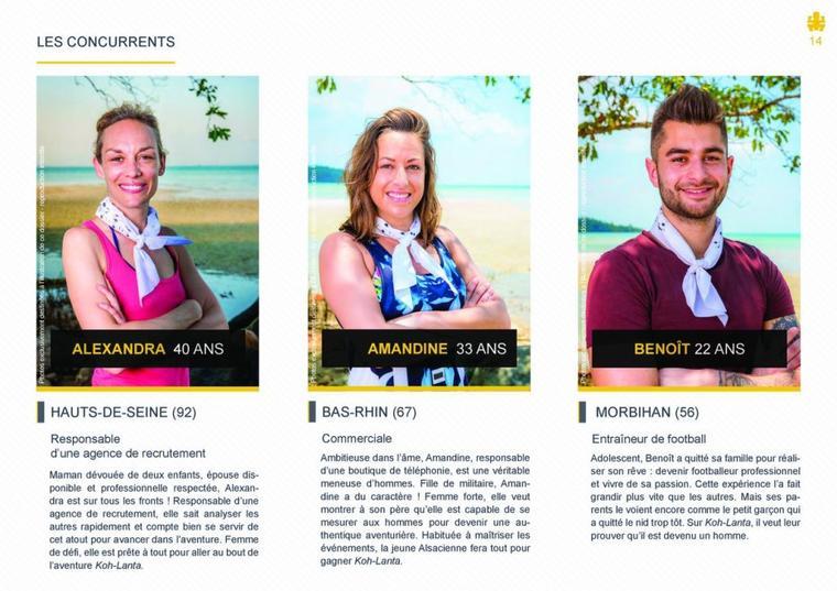 #NEWS: Les candidats de Koh-Lanta l'ile aux trésors
