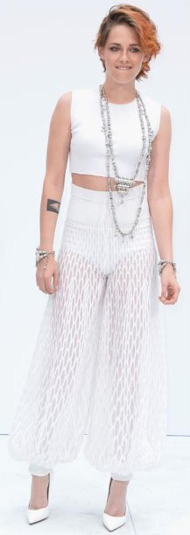 Aperçu au Défilé Chanel : Kristen Stewart et Lily Collins