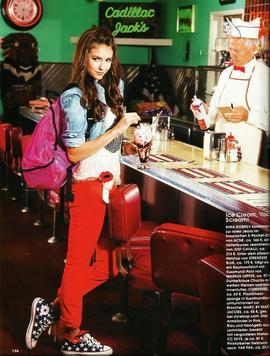Nina Dobrev - In touch Magazine (Février-Mars 2011)