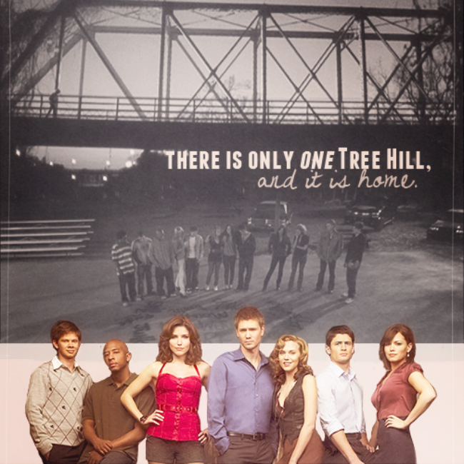 Tree hill ; This is our Home.