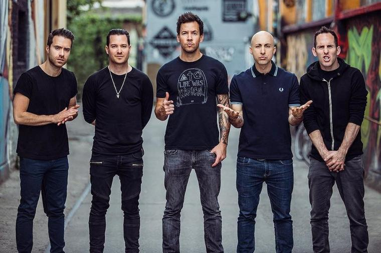 Nouvelle photo promotionnelle de Simple Plan