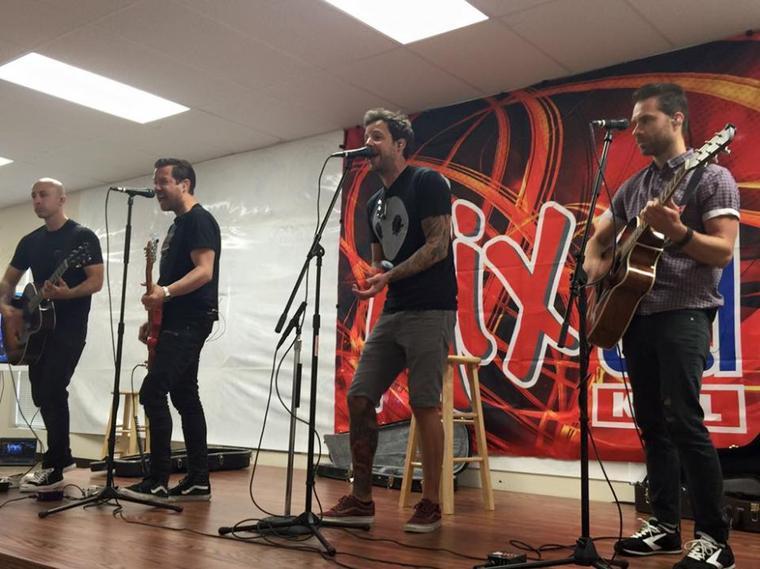 Performance de Simple Plan à Tyler, Texas