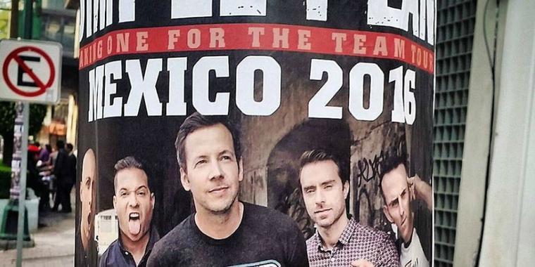 Le groupe Tola fera la 1ère partie d'SP à l'un des concerts au Mexique
