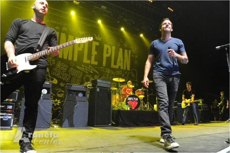 Simple Plan au Chili