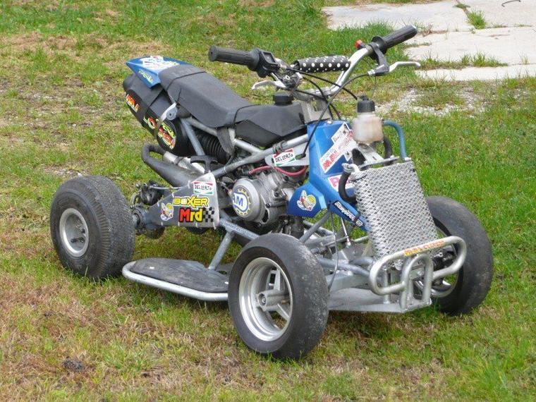 photo du jour : pocket quad avec un moteur mt4