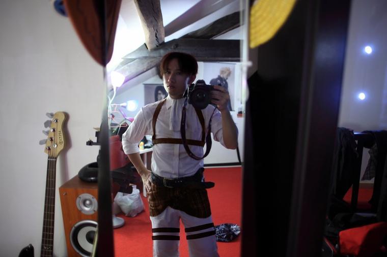En cosplay de Levi