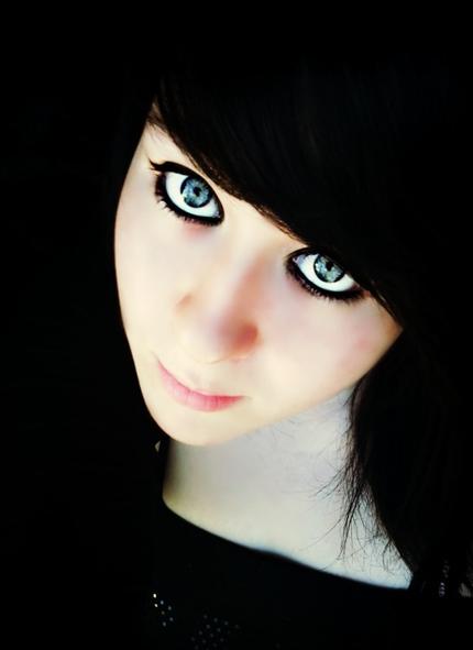 Moi et mes différentes couleurs de cheveux xD toute une histoire :D