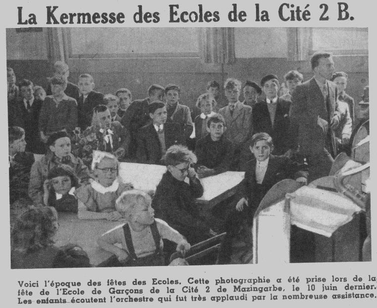 Art 1529 : Kermesse de la cité 2 en 1951
