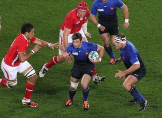 15 octobre 2011 - Demie finale France 9 - 8 Pays de Galles