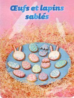 › Recette SP Pâques : Oeufs et Lapins sablés !