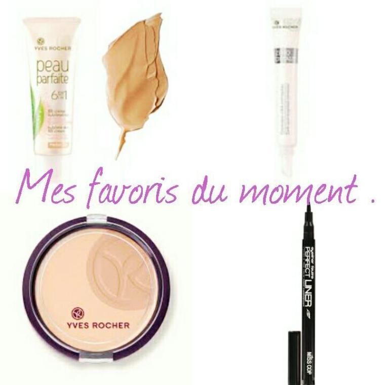 Mes favoris Make up du moment .