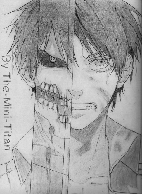 #1 Dessin made by me: Eren d'Attack On Titan